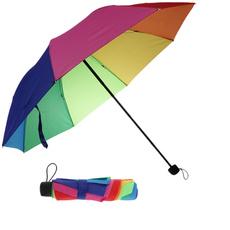 rainbow, rainumbrella, Fashion, Umbrella