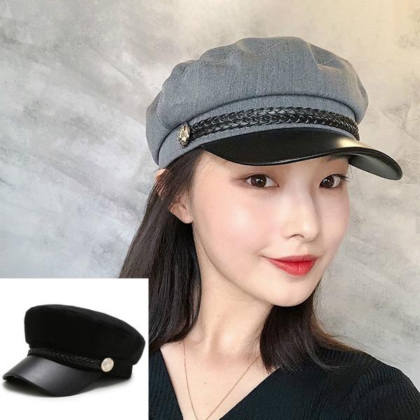 captainhat, Fashion, Winter, leather