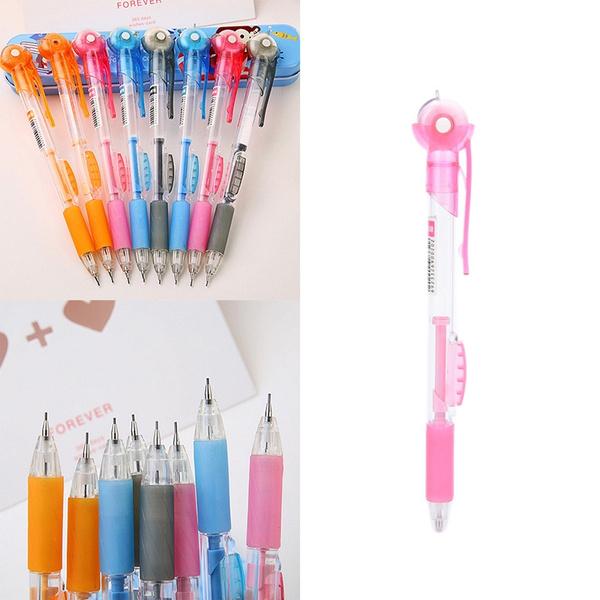 Kawaii, pencil, pencilwitheraser, plasticmechanicalpencil