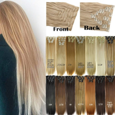wig, extensionshumanhair, clip in hair extensions, Extensiones de pelo