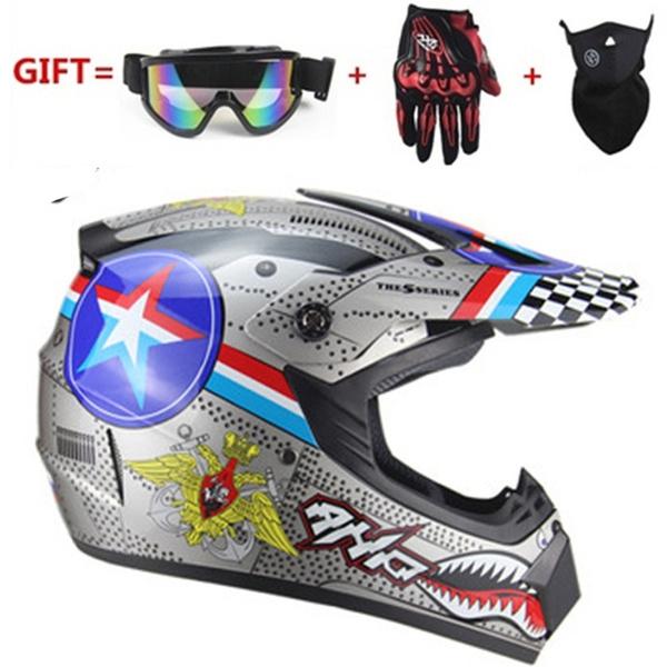 motorcycleaccessorie, Helmet, dirtbikemenfullfacehelmet, Cross
