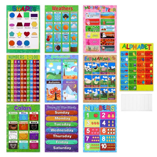 cartoonposter, preschooltoy, Farm, kidseducationalposter