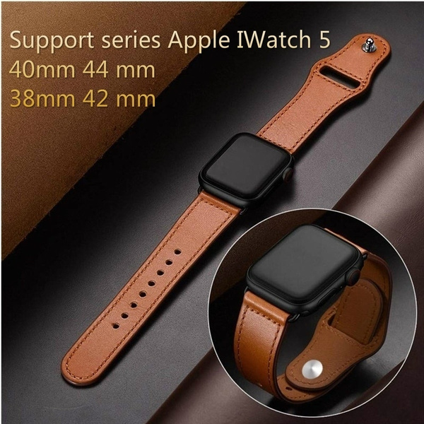 brown, Apple, iwatchband38mm, leather