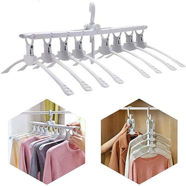 Storage & Organization, Multifunctional, foldablehangerforclothe, Closet