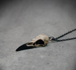 Mini, skullnecklace, Jewelry, Gifts