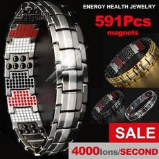Titanium Steel Bracelet, therapybracelet, Jewelry, Gifts