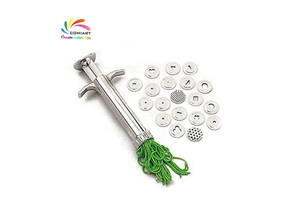 Comiart Pottery Clay Extruders Polymer Clay Fimo Extruder Craft Gun Sculpting Tools Cake Extruder Fondant Tool Wish