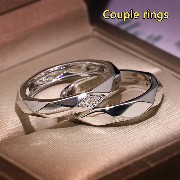 Sterling, wedding ring, 925 silver rings, Romantic