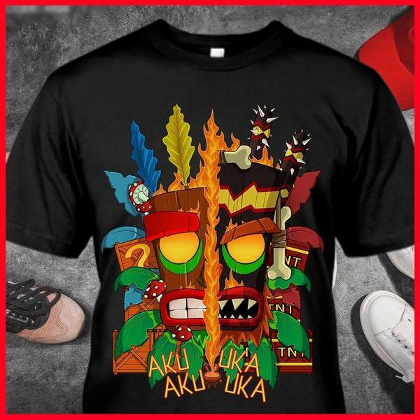 Playstation, Fashion, crash, Shirt
