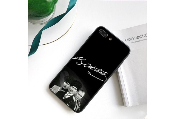 Turkey Mustafa Kemal Ataturk cell mobile phone case cover for iphone 5 5s Se 6 6S Plus 7 plus 8 plus X Xr Xs max 11 pro max Samsung galaxy S4 S5 S6 S7 ...