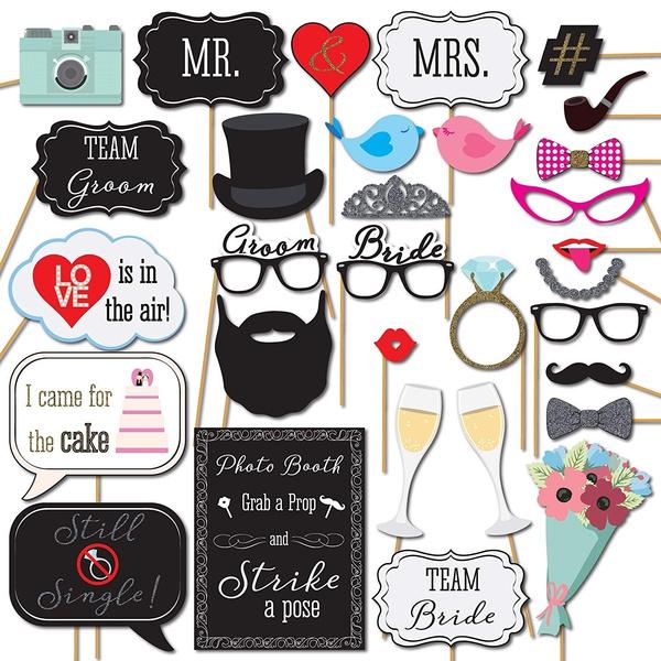 mrmr, photoboothprop, Shower, bridegroom