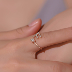 Fashion Jewelry, adjustablering, Women's Fashion, Jewelry