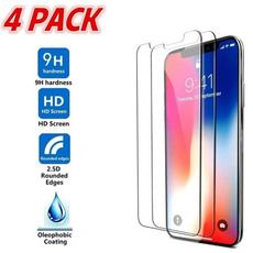 Screen Protectors, Apple, iphonex, Waterproof
