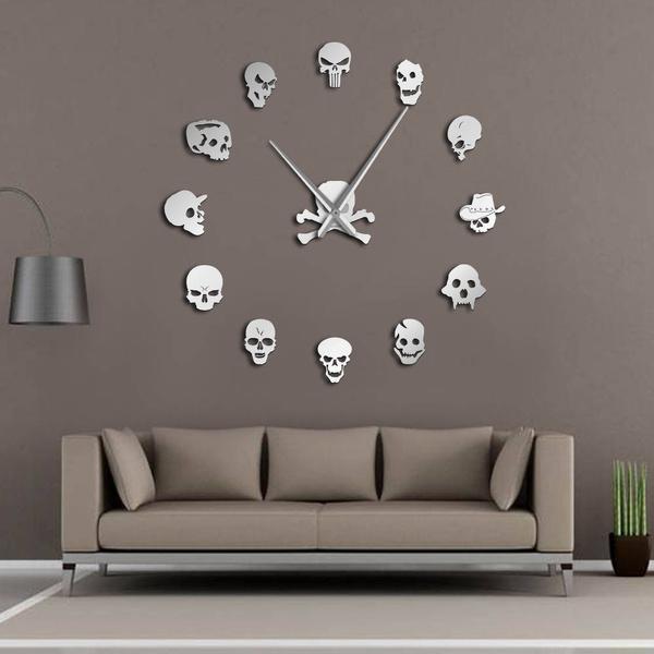 framele, Decor, art, skull