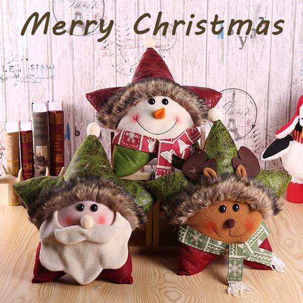 christmashomedecoration, christmaspillow, Star, christmaspresent