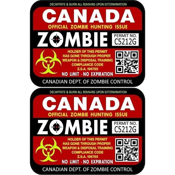 Canada, Car Sticker, luggagesticker, windowsticker