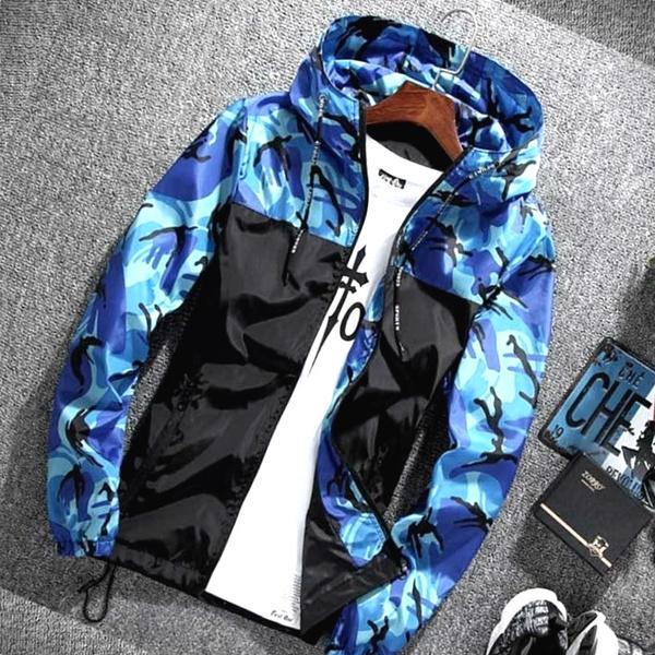 Overcoat, hooded, Hoodies, Zip