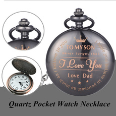 Pocket Watches, dial, quartz, Gifts