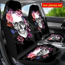 carseatcover, Vans, skull, skullprint