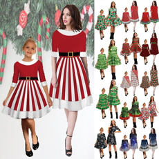 girls dress, Moda, Christmas, Family