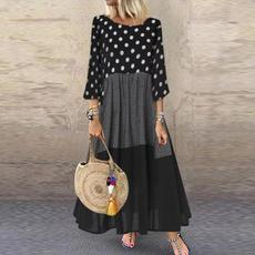 loosedresse, Shirt, kaftan, long dress