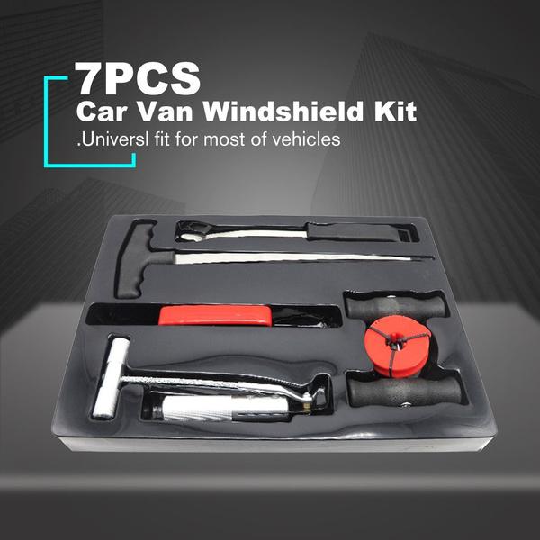 carvanwindshieldkit, Vans, windscreenglas, wiresaw