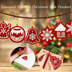 Box, christmastreependant, DIAMOND, Ornament