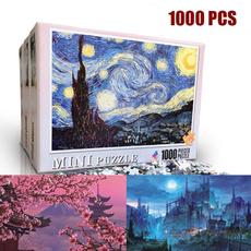 1000pcpuzzle, Toy, jigsawspuzzle, Hobbies