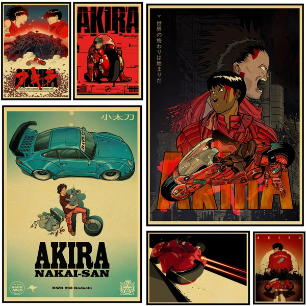 Home Decor, akira, movieposter, Posters