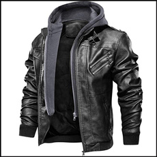 motorcyclejacket, Fashion, manpujacket, bomberleatherjacket