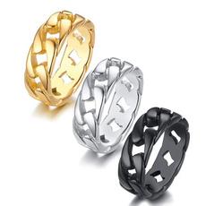 Steel, ringsformen, Stainless Steel, Jewelry