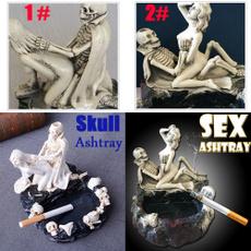 skullashtray, Decor, Skeleton, skull