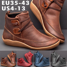 ankle boots, Plus Size, Leather Boots, Medieval