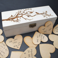 Box, Heart, uniquewedding, memorybox
