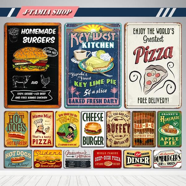 fastfood, Cafe, art, Home Decor