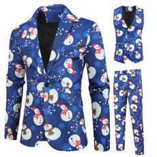 Vest, Plus Size, nationalstyle, Christmas