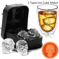 Cocktail, skull, Silicone, Tool