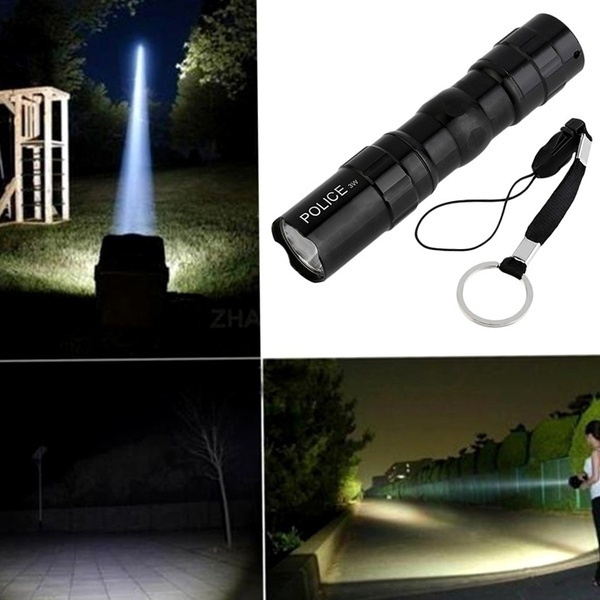 Flashlight, Bright, Outdoor, led