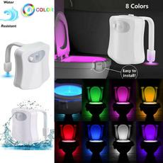 motionsensor, colorschangeshower, Bathroom, led