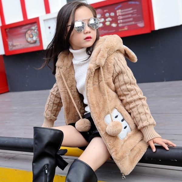 Fashion, fur, Winter, sweater coat