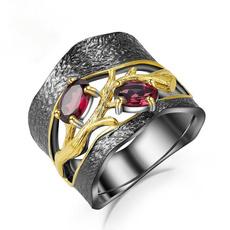 blackgoldring, Fashion, emeraldring, Crystal