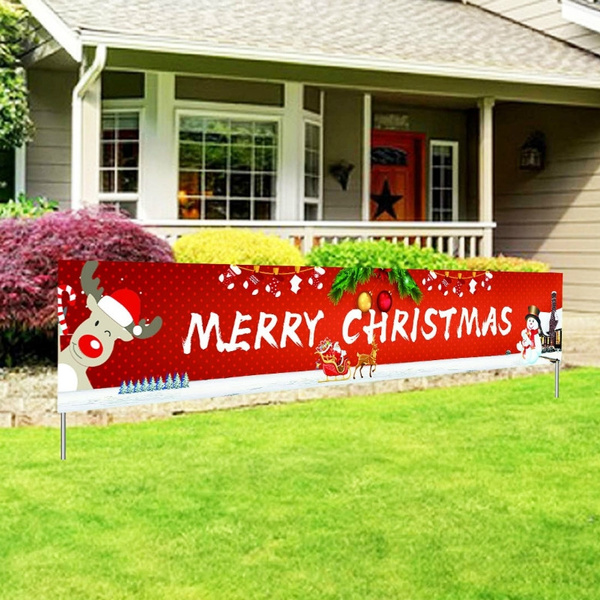xmasdecor, christmascurtain, Outdoor, partybanner