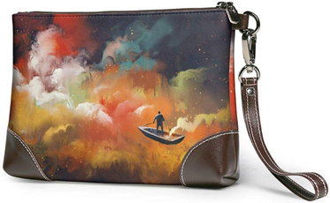 Fashion, Colorful, leather, Clutch