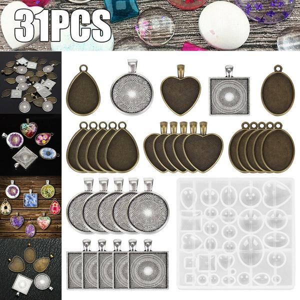diyjewelry, glasscabochonpendant, Jewelry, Silicone
