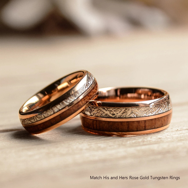 Couple Rings, Engagement Wedding Ring Set, Jewelry, gold