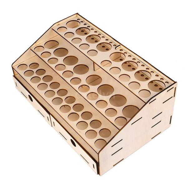 Storage Box, Art Supplies, Container, paintbottlesrack