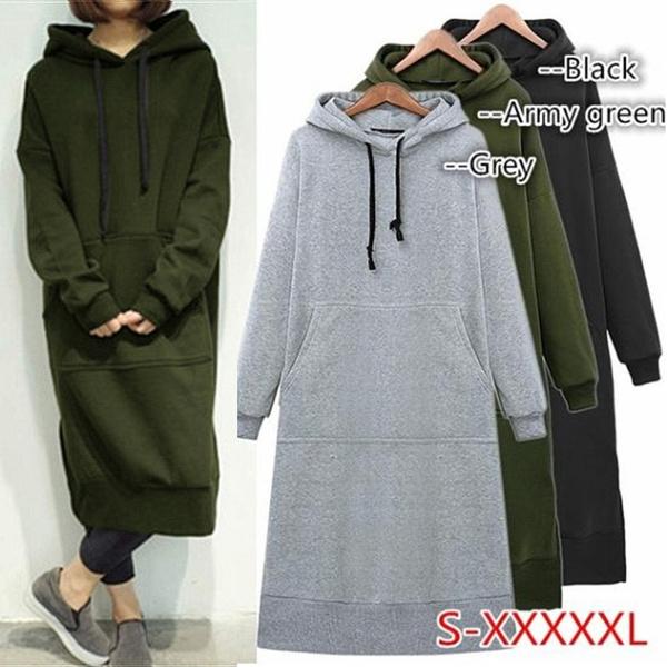Fleece, hooded, Hoodies, Long Sleeve