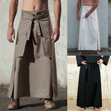 long skirt, Plus Size, high waist, Vintage