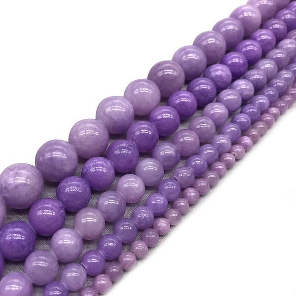 Stone, chrysoprase, purple, Loose