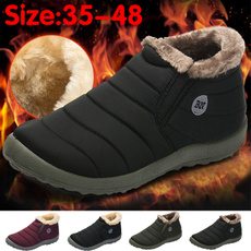 Boots, Wool, Cotton, Winter